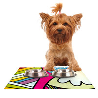 "Danny Ivan ""Fake Colors"" Dog Place Mat"