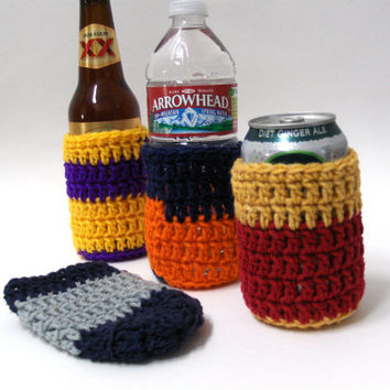 Crochet Can Cozies Custom Made