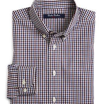 Non-Iron Multi Gingham Sport Shirt - Brooks Brothers