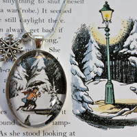 Narnia 'Lucy & Mr Tumnus' Winter by PrettyLittleCharmsUK on Etsy