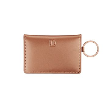 O-Venture: Rose Gold Leather ID Case
