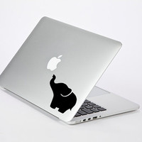 Super cute elephant vinyl sticker decal skin for apple mac macbook iphone ipad tablet laptop pc wall furniture car bumper window