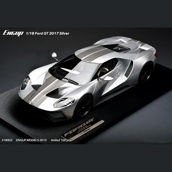 Limited 1/18 Ford GT 2017 Fun 3d Metal Diy Miniature Model Kits Puzzle Toys Children Educational Boy Splicing Hobby Building