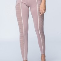 Chablis Legging / Dusty Rose
