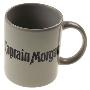 Captain Morgan Rum Seeking First Mate Gray Coffee Mug Tea Ceramic Sexy Woman