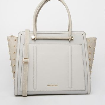 Studded Gusset Tote