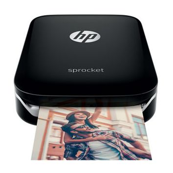HP Sprocket Photo Printer Black | Staples
