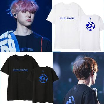 Kpop JBJ Epilogue T Shirt Ins Loose Harajuku Women Men's Korean Summer Top