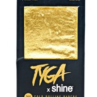 24K Gold King Size Rolling Papers 6-Sheet Pack | Dolls Kill