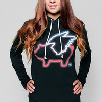 Girls Name In Lights Hoodie - Glamour Kills Clothing