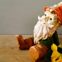 Garden Gnome Lawn Ornament by quirkyessentials on Etsy