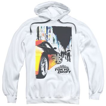 Tokyo Drift - Poster Adult Pull Over Hoodie