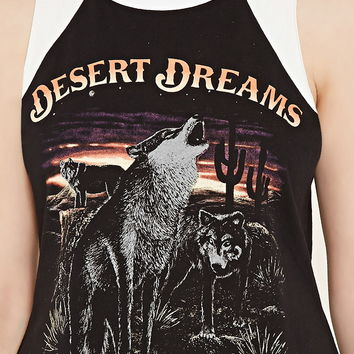 Dreams Graphic Tank | Forever 21 - 2000170399