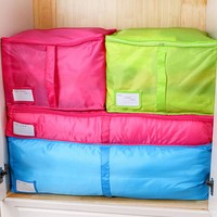 2016 New Fashion 1Pcs Clothes Storage Bags Packing Cube Travel Luggage Organizer Pouch 2Color