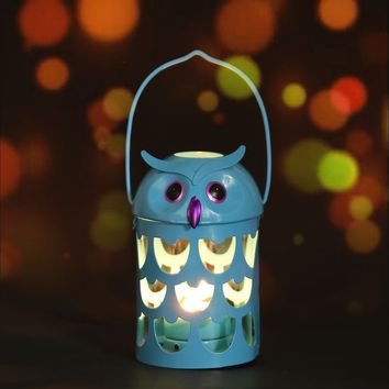 Owl candle holder 6 color Hurricane lamp Practical ornament Fantastic ornament  Home Furnishing Articles