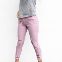 In The Way Lilly Mid-Rise Skinny Jeans