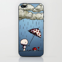 RAINING DAY iPhone & iPod Skin by hardkitty