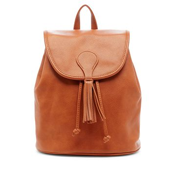 Sole Society Francis Backpack With Tassel Flap