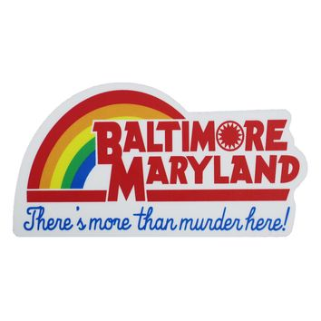 Baltimore, Maryland - There's More Than Murder / Magnet
