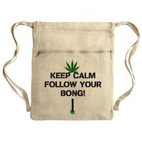 Follow Your Bong Drawstring Bag> 420 Gear Stop