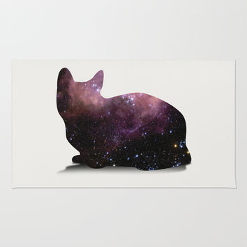 Willow the Galaxy Cat! Rug by All Is One