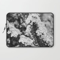 Lilacs Laptop Sleeve by Alayna H.