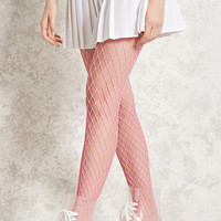 Neon Oversized Fishnet Tights