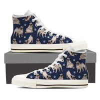 Pug Pattern Shoes