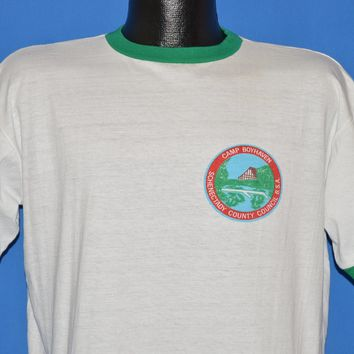 60s Boy Scouts Camp Boyhaven t-shirt Extra Large