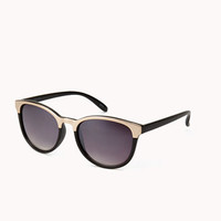 F6993 Mirrored D-Frame Sunglasses