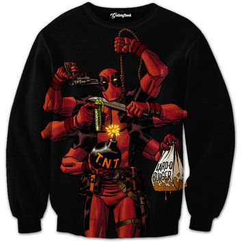 Deadpool Arsenal Crewneck