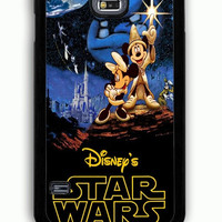 Samsung Galaxy S5 Case - Rubber (TPU) Cover with Disney Star Wars Rubber Case Design