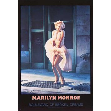 Marilyn Monroe Boulevard of Broken Dreams Poster 24x36