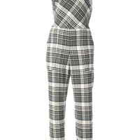 See By Chloé check print jumpsuit
