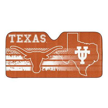 Licensed Official New NCAA Texas Longhorns Car Truck Windshield Folding SunShade Large Size
