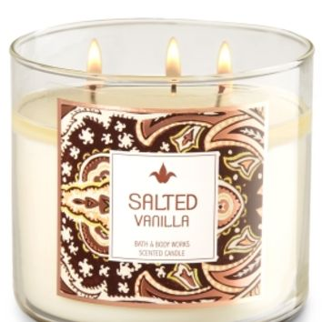 3-Wick Candle Salted Vanilla