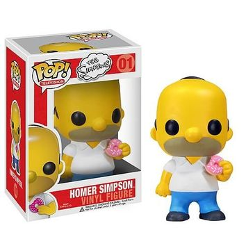 Homer Simpson Pop! Vinyl Figure  - Whimsical & Unique Gift Ideas for the Coolest Gift Givers