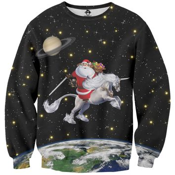 Santa Unicorn Sweater