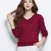 Women's Knitted Cashmere Sweater