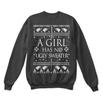 KUYOU Game Of Thrones Arya Stark A Girl Has No Ugly Sweater
