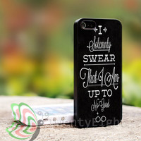 I Solemnly Swear Harry Potter - iPhone case, iPhone 4 case, iPhone 4S case, iPhone 5 case, Photo print on hard case