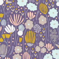 Rich Meadow Navy  - Organic Cotton - Morning Song Collection (5208.52.00.90)