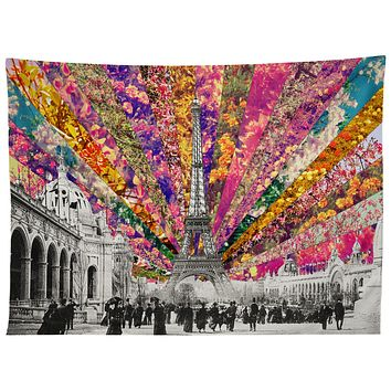 Bianca Green Vintage Paris Tapestry