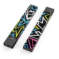 Skin Decal Kit for the Pax JUUL - Crazy Retro Squiggles V1