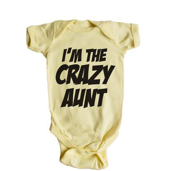 I'm The Crazy Aunt Baby Onesuit