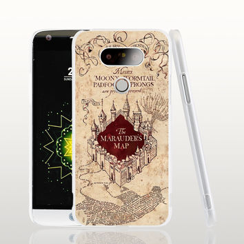 19989 MARAUDERS MAP harry potter cell phone protective case cover for LG G5 G4 G3 K10 K7 Spirit magna