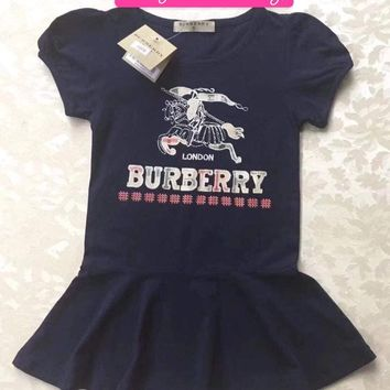 Little girls Burberry dress