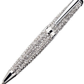 Jorg Gray Swarovski Crystal-Encrusted Ballpoint Pen with Texture cebe441fe321