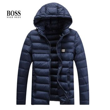 Hugo Boss Fashion Casual Cardigan Jacket Coat-1