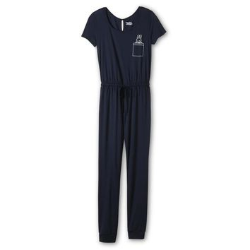 Joe Boxer Joe Boxer Women's Plus Pajama Jumpsuit - Bunny